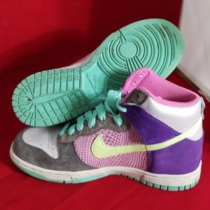 release date eeb22 60d35 Nike Shoes - Nike Dunk High 6.0 Womens Multicolor Sneakers